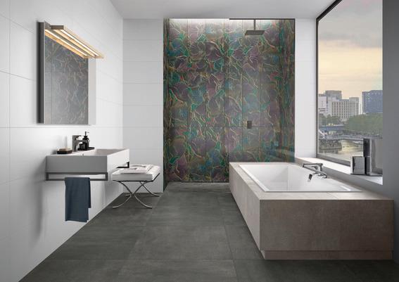 łazienkowe płytki ścienne dekoracyjne dekor