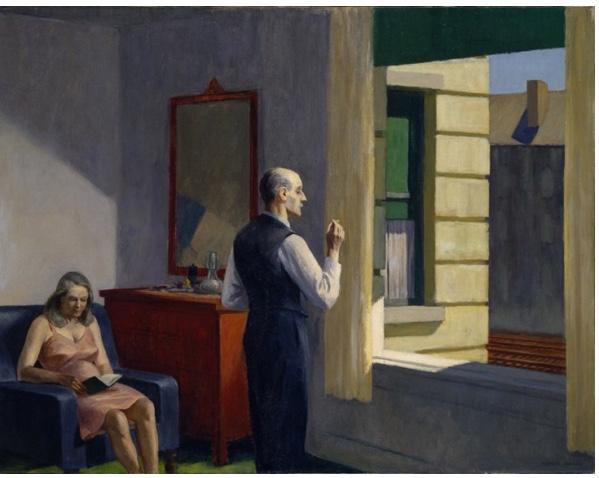 Edward Hopper - Hotel przy torach (1952)