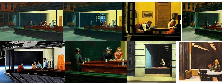 obrazy Edwarda Hoppera